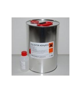 Resina de Poliester + catalizador para laminar ADHyECO Baja emisión 5 KG