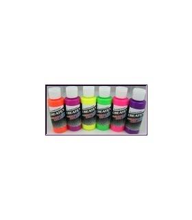 Kit pintura createx fluorescentes