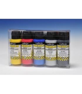 Set Premium metalico Vallejo 5 colores