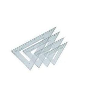 Cartabon 45º 30Cm plastico