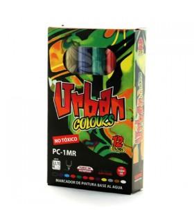 Set Posca Urban Colors PC-1MR 12 unidades