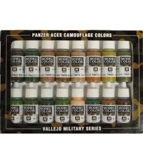 Set Panzer Aces Comouflage colors 70179 16u