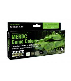 Set model air MERDC camo colors 8u. 71202 Vallejo