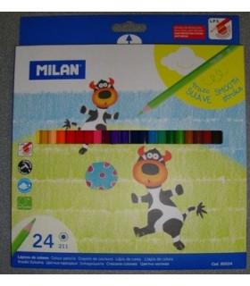 Set Milan 24 lápices de colores