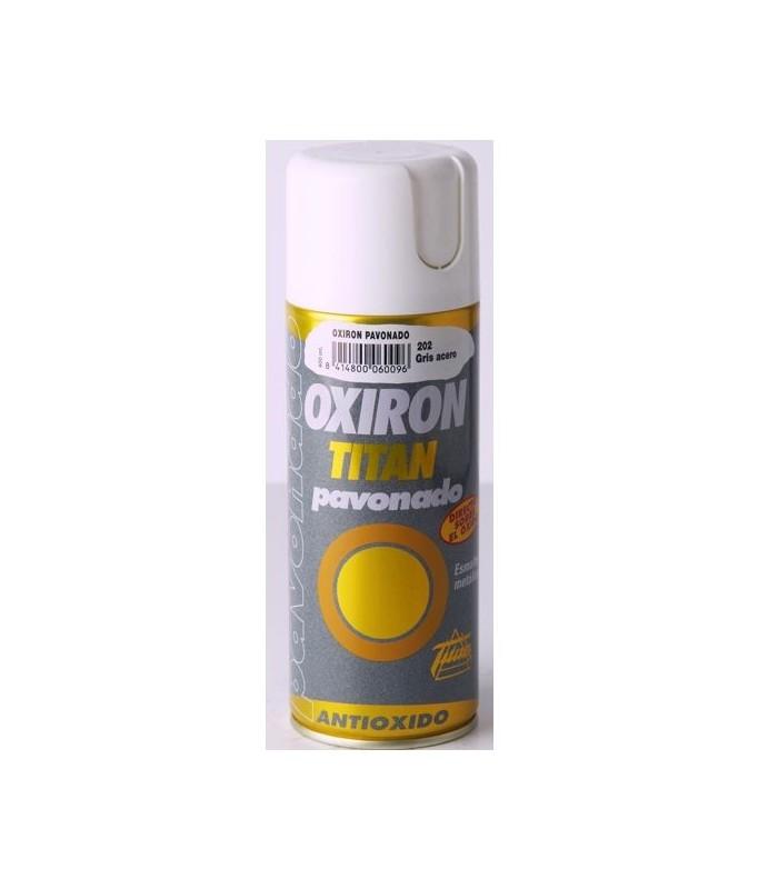 Spray Titan Oxiron pavonado negro forja