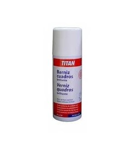 Sprai Titan Barniz Cuadros Brillante 400ml.
