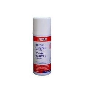 Spray Titan Barniz Cuadros Mate