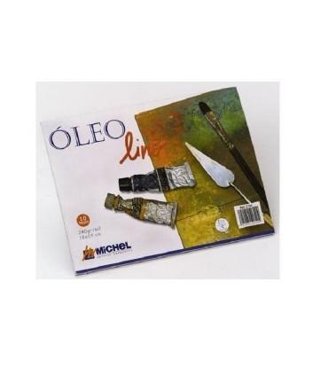 Bloc Óleo Lino 24x32