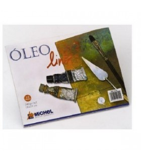Bloc Óleo Lino Michel 30x40