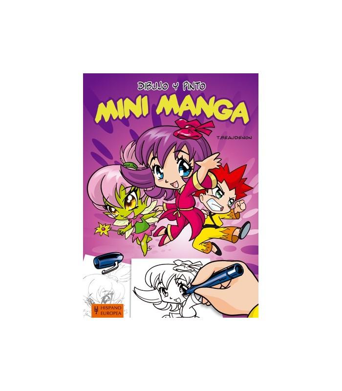 Dibujo y Pinto Manga-Mini