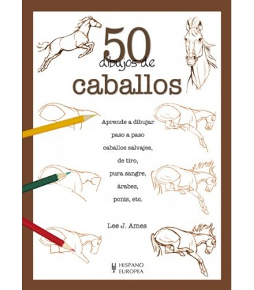 Aprende a Dibujar 50 Caballos