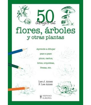 Aprende a Dibujar 50 Flores y árboles