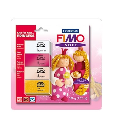 Kit fimo inciación princesas 8024-43