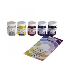 Set témpera Talens Gouache 5 frascos 50ml