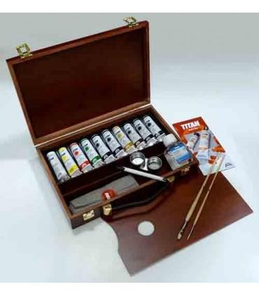 Caja óleo Titan Extra fino 11 colores