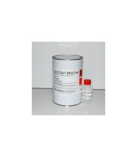 KIT GELCOAT ISO BLANCO 1 KG