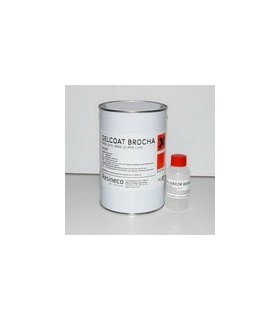 KIT GELCOAT ISO NEGRO 1 KG