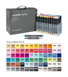 STYLEFILE MARKER SET 72 MAIN
