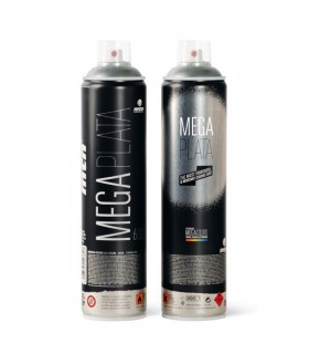 Spray MTN Mega plata 600ml