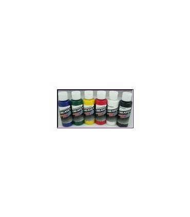 Kit pintura createx primarios
