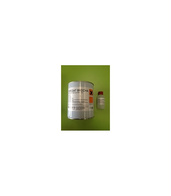 KIT TOPCOAT ISO BLANCO 1 KG