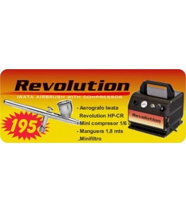 KIT AEROGRAFO IWATA REVOLUTION