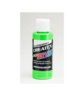 Createx Fluorescente Verde 5404 60ml.