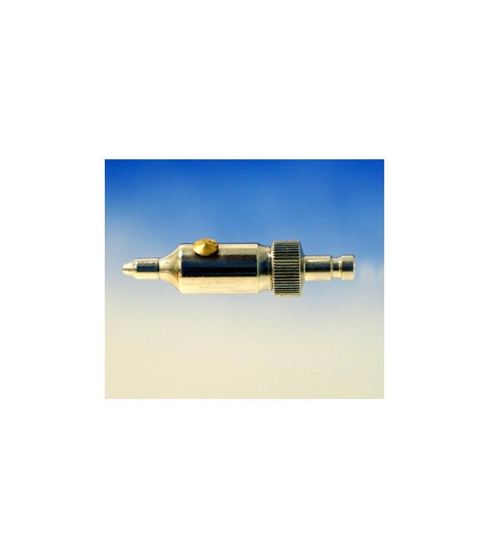 300670 Mini pistola de aire + 2 agujas finas