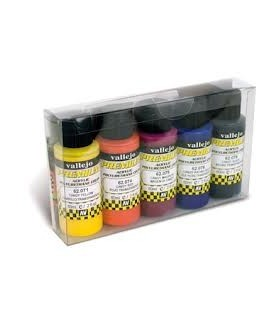 Set Premium opaco Vallejo 5 colores