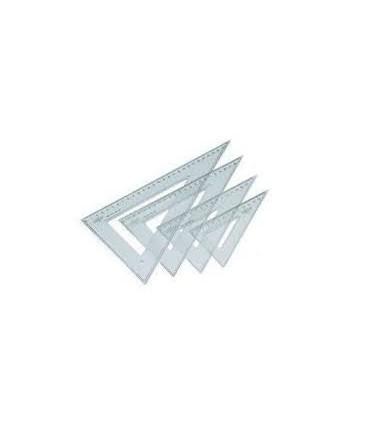Cartabon 60º 30Cm plastico