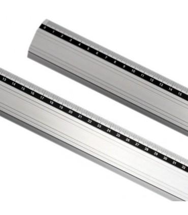 Regla aluminio antideslizante 100Cm