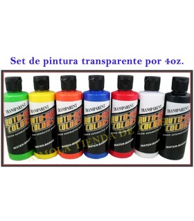 Set 7+1 Auto Air Transparent (120 ml.)