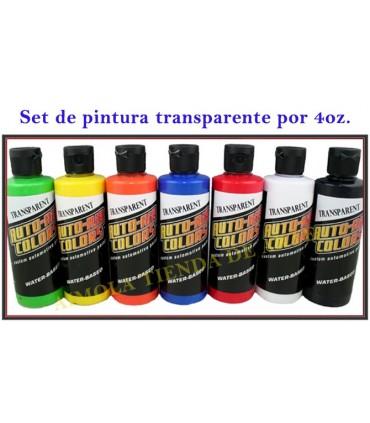 Set 7+1 Auto Air Transparent (120 ml.)