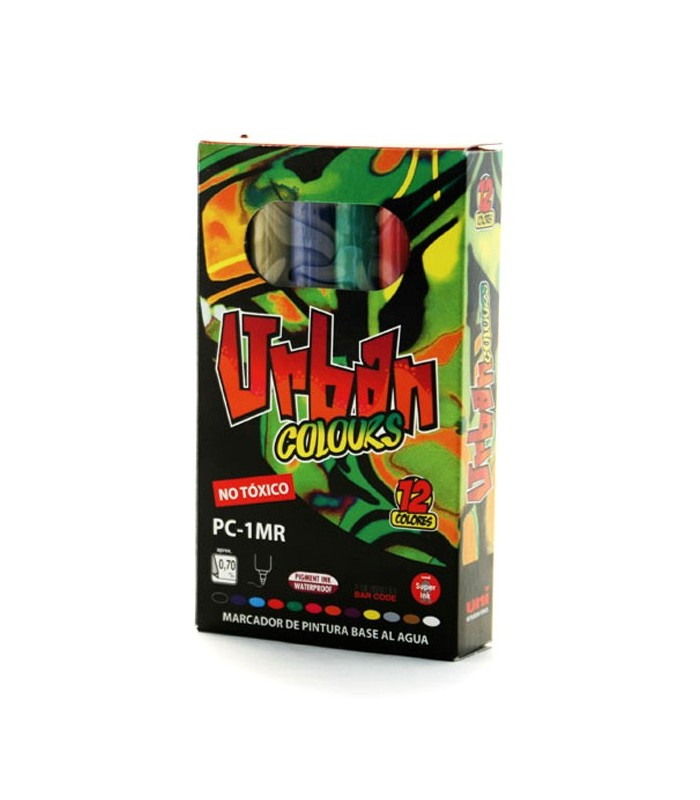 Set Posca Urban Colors PC-1MR 12 unidades