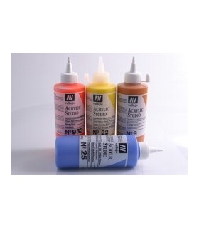 Acrylic Studio Vallejo 200 ml.