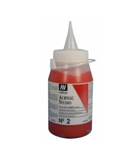 Acrylico Studio Vallejo 500 ml.