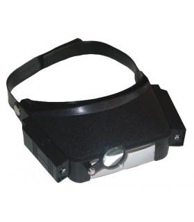 Lupa de cabeza con iluminación 09300