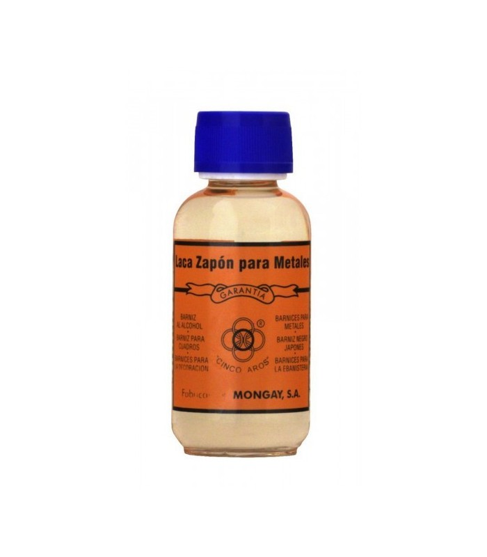 Laca zapon para metales Mongay 125ml.