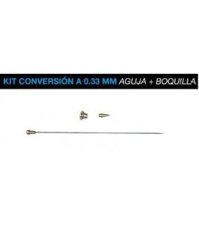 Kit conversion Badger 0,33mm Aguja+Boquillas