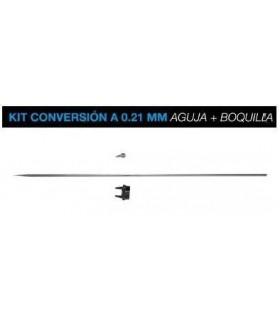 Kit conversion Badger 0,21mm Aguja+Boquillas