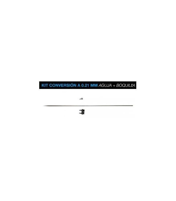 Kit conversion Badger 0,21mm Aguja+Boquillas