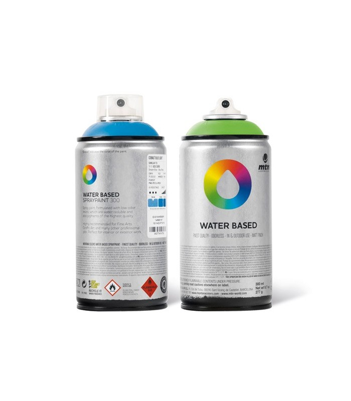 Spray MTN water based 300 barniz brillante