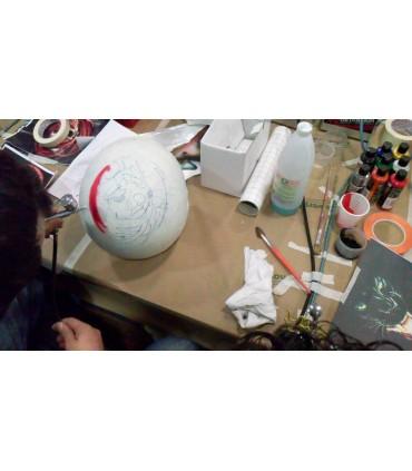 Curso aerografía para cascos