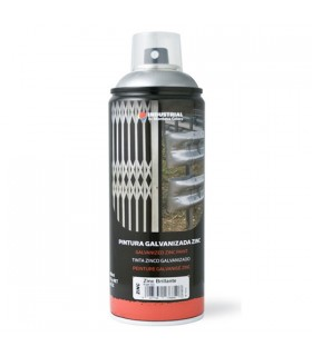 400ml glossy zinc spray.