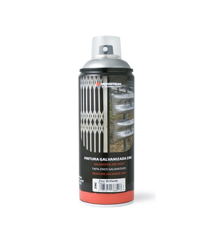 Spray zinc brillante 400ml.