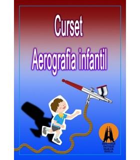 CURSO AEROGRAFIA INICIACION INFANTIL