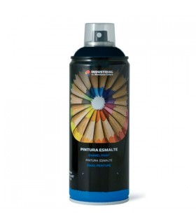 Spray MTN RAL-9005 negro satinado 400ml.