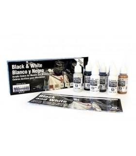 Set blanco y negro 70151 model color