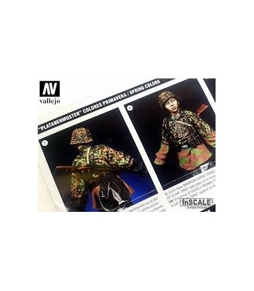 Set Vallejo Waffen-SS Camouflage 70180