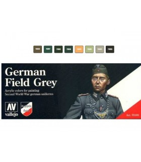 Set Model color German Field Grey 70181